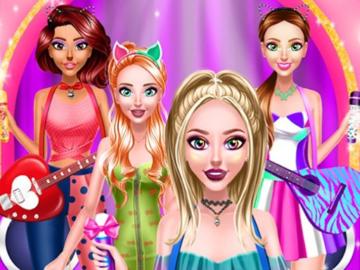 Brilliant Popstar Girls Dress Up Online