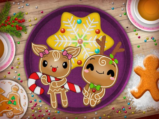 Christmas Gingerbread - Color Me Online