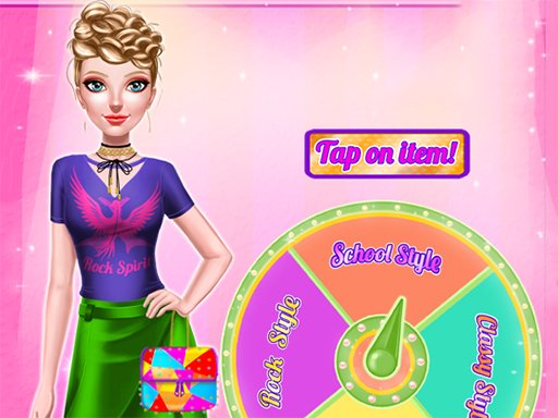 Dress Up Wheel Online