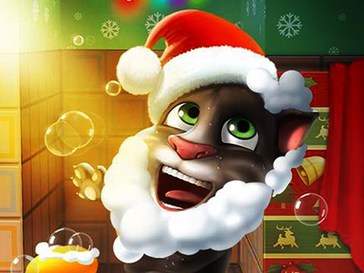 Talking Tom Christmas Online